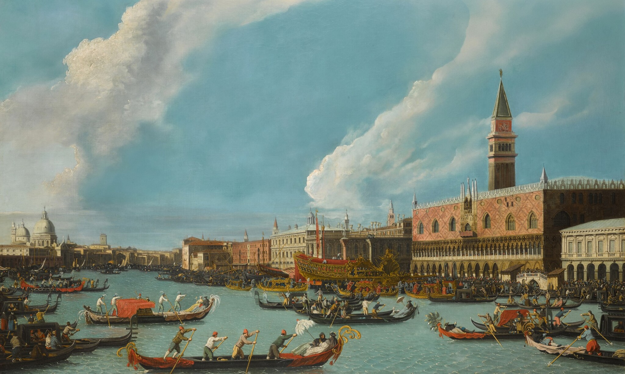 View 1 of Lot 206. Venice, the Bucintoro returning to the molo on Ascension day.