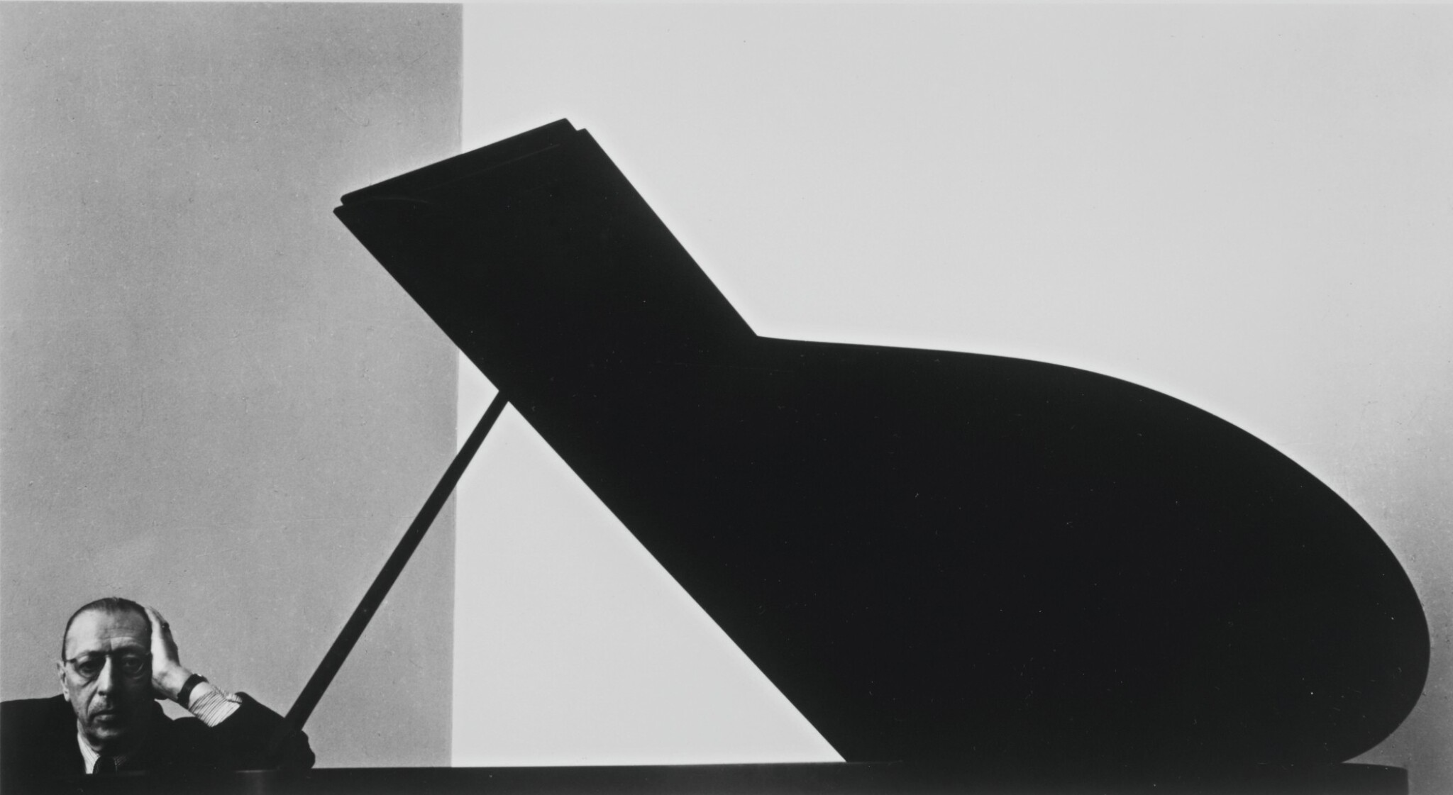 View full screen - View 1 of Lot 21. ARNOLD NEWMAN   'IGOR STRAVINSKY'.