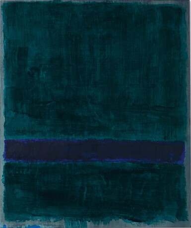 View 1. Thumbnail of Lot 110. MARK ROTHKO | GREEN, BLUE, GREEN .