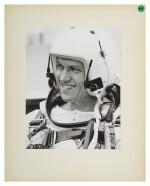 [GEMINI 7] VINTAGE SILVER GELATIN PRINT OF FRANK BORMAN, CA DECEMBER 1965.