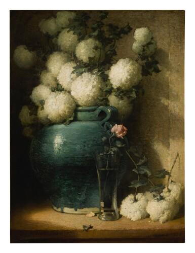JOHN FERGUSON WEIR   VASE OF FLOWERS