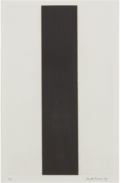 View 1. Thumbnail of Lot 205. BARNETT NEWMAN | UNTITLED ETCHING 2.