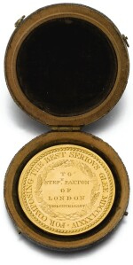THE CATCH CLUB 1784 GOLD MEDAL