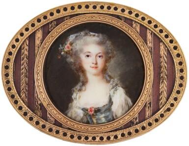 View 1. Thumbnail of Lot 142. Portrait of a lady, circa 1780.