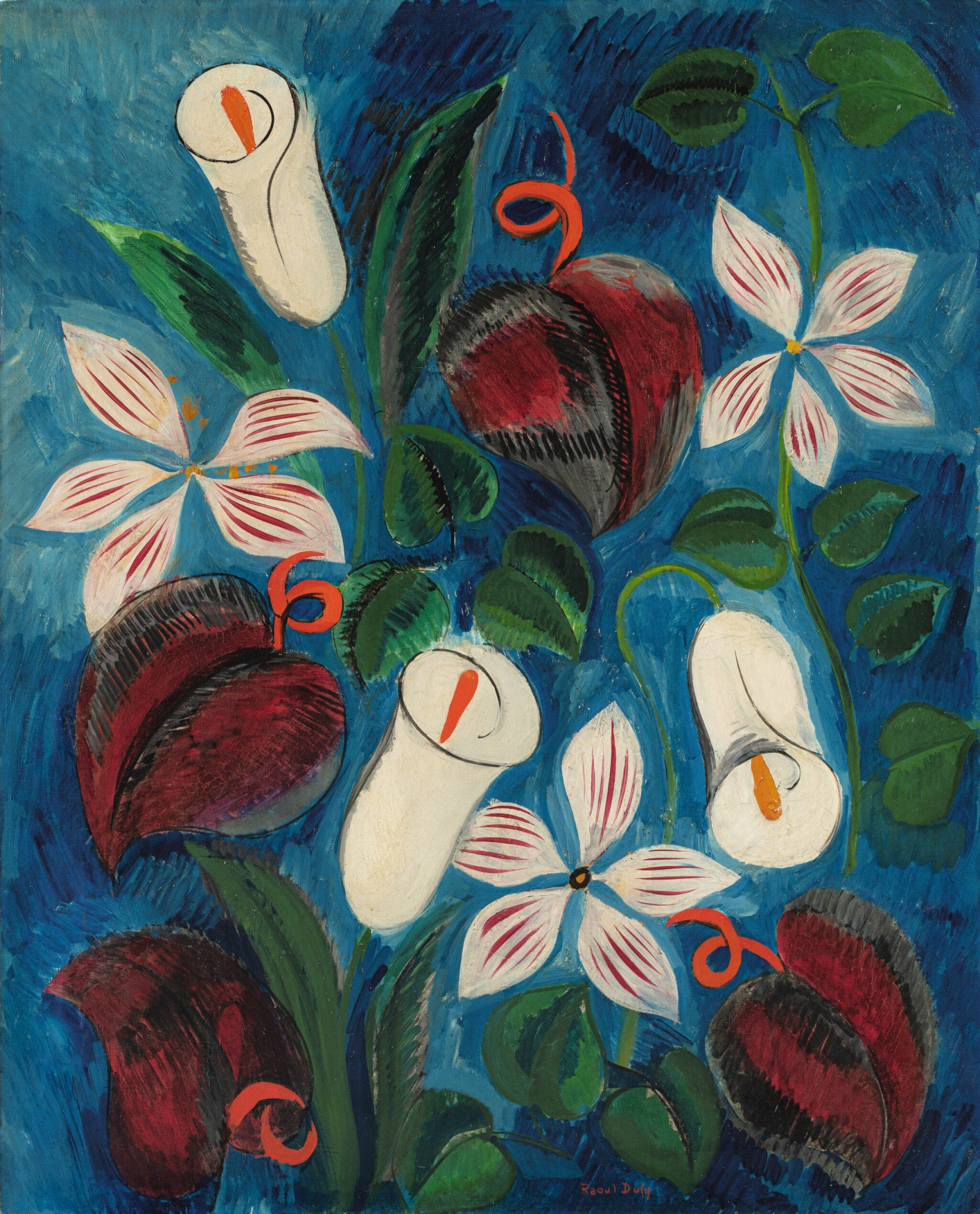 View full screen - View 1 of Lot 29. RAOUL DUFY | COMPOSITION FLORALE.