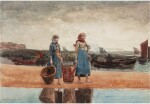 Two Girls on the Beach, Tynemouth