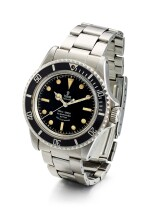 TUDOR | SUBMARINER, REFERENCE 7928, A STAINLESS STEEL WRISTWATCH WITH BRACELET, CIRCA 1959