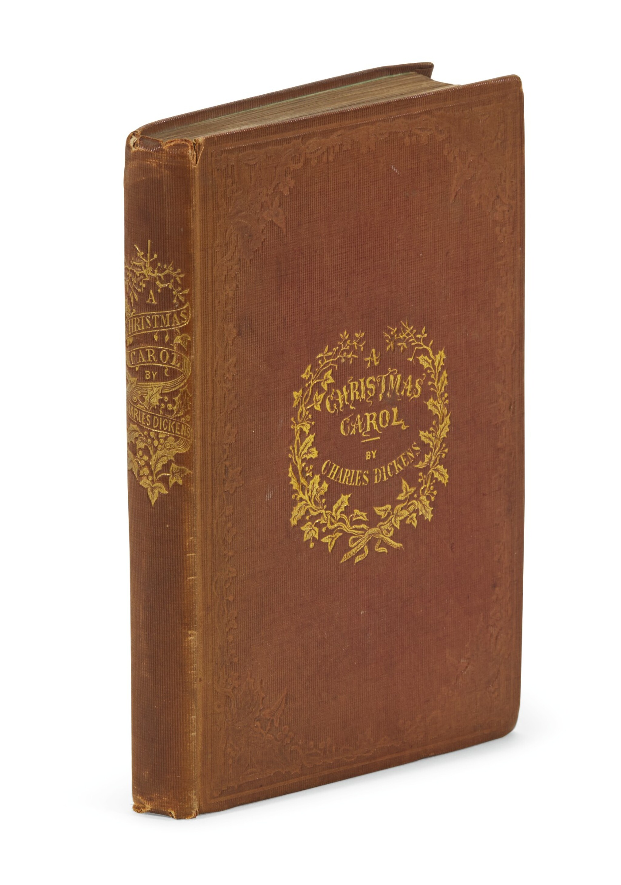 View full screen - View 1 of Lot 88. Dickens, A Christmas Carol, 1843.