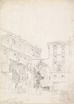 WILLIAM CALLOW, R.W.S. | Piazza dei Signori, Verona