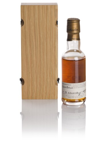 View 2. Thumbnail of Lot 159. THE MACALLAN FINE & RARE 37 YEAR OLD 43.0 ABV 1937 .