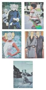 KAWS | KAWS X Undercover(一組五件) KAWS x Undercover (set of five)