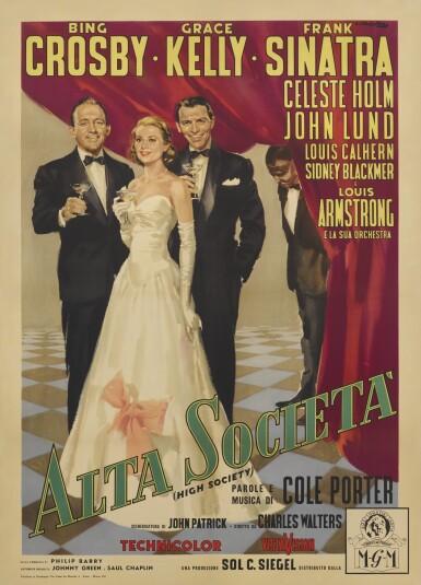 HIGH SOCIETY/ALTA SOCIETÀ (1956) POSTER, ITALIAN