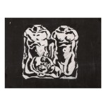LUIS FRANGELLA | UNTITLED (TWO TORSOS AND ONE HEAD)