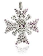 Ruby and diamond pendant, Michele della Valle