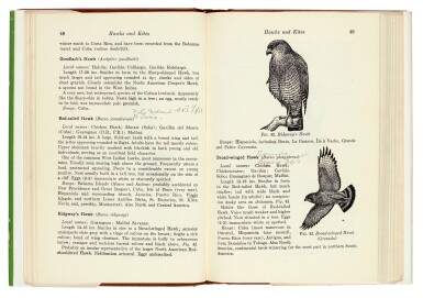 View 5. Thumbnail of Lot 109. BOND | Field Guide of Birds in the West Indies, 1947, presentation copy.