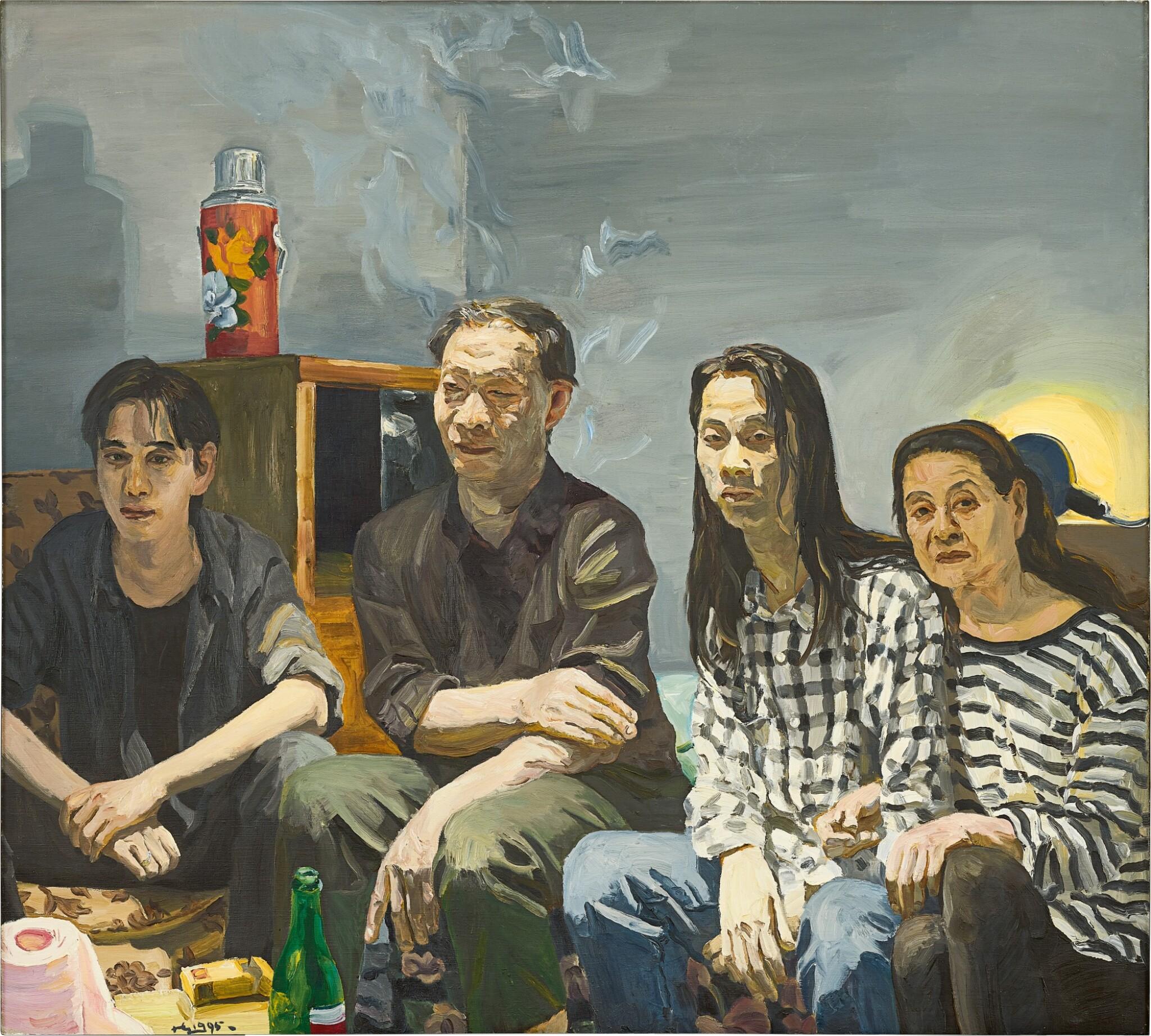 View full screen - View 1 of Lot 1118. Liu Xiaodong 劉小東 | Sons 兒子.