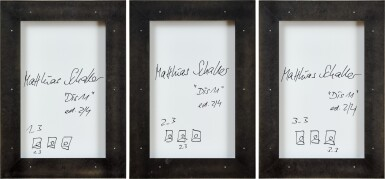 View 2. Thumbnail of Lot 156. Matthias Schaller 马蒂亚斯·夏勒 | Dis 11 (Three Works) DIS 11(三幅作品).