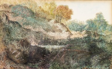 View 1. Thumbnail of Lot 98. Paysage (Dendrite).