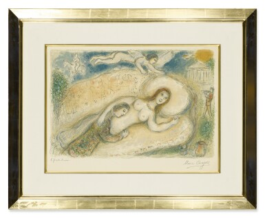 View 2. Thumbnail of Lot 30. MARC CHAGALL   CIRCE (M. 780; SEE C. BOOKS 96).