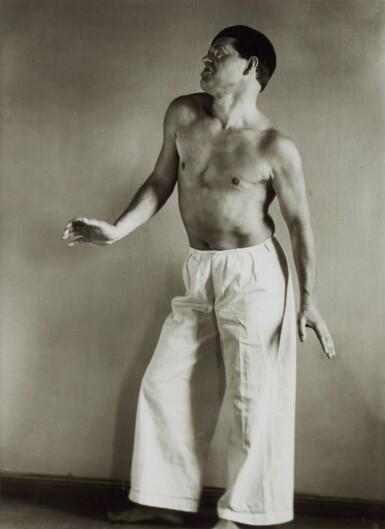 View 2. Thumbnail of Lot 63. AUGUST SANDER   'PAINTER (GOTTFRIED BROCKMANN)', 1924; AND 'DANCER (RAOUL HAUSMANN)', 1938 .