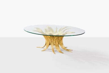JACQUES DUVAL-BRASSEUR | OCCASIONAL TABLE, CIRCA 1970-1980 [TABLE BASSE, VERS 1970-1980]