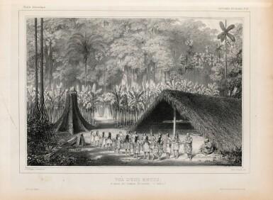 View 4. Thumbnail of Lot 137. ORBIGNY. Voyage dans l'Amérique Méridionale... Paris et Strasbourg, 1834-1847.9 vol in-4. Demi-rel. de l'ép. .