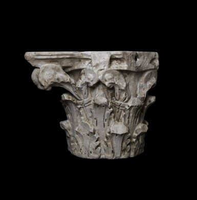 View 3. Thumbnail of Lot 82. A Roman Marble Composite Capital, 2nd/3rd Century A.D..