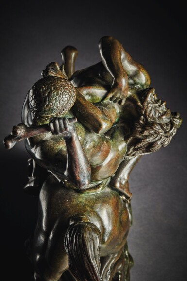 View 7. Thumbnail of Lot 244. Theseus Fighting the Centaur Bianor.