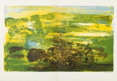 View 6. Thumbnail of Lot 181.  À la gloire de l'image.... Barcelone, 1977. 15 lithographies en couleurs. Edition originale..