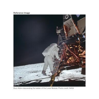 View 6. Thumbnail of Lot 104. [APOLLO 11]. ORIGINAL, FIRST-GENERATION NASA VIDEOTAPE RECORDINGS OF THE APOLLO 11 LUNAR EVA.