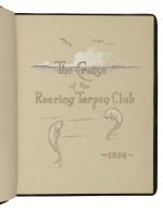 CORNELL, M[ILTON]. L. | The Cruise of the Roaring Tarpon Club.[N.P., but Baltimore?: privately printed, ca. 1924]