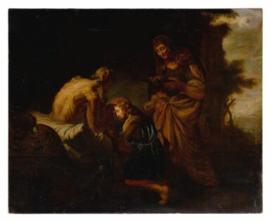 View 2. Thumbnail of Lot 67. Blessing of Issac.