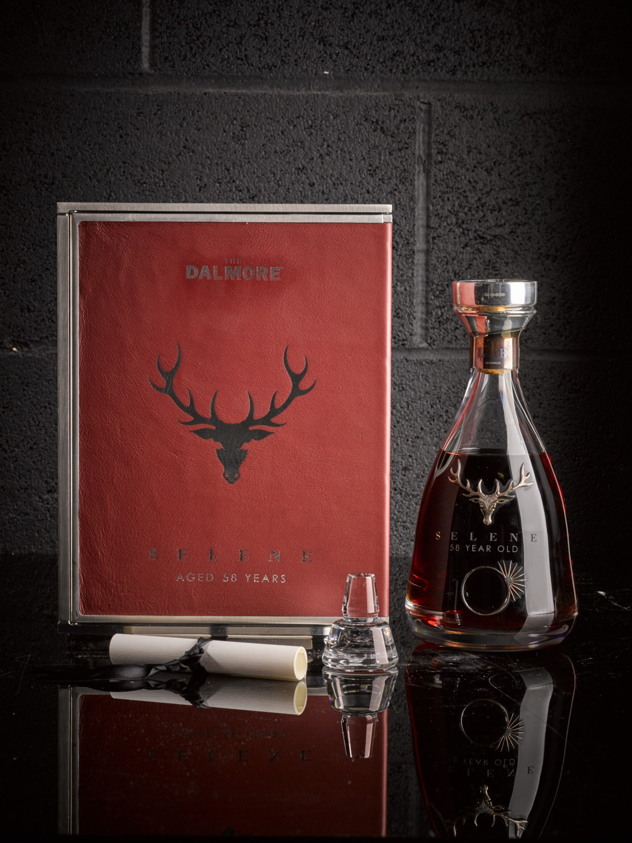View 1 of Lot 1. The Dalmore 58 Year Old Selene 44.0 abv 1951     .