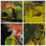 GERHARD RICHTER |  FLOW (P4); FLOW (P5); FLOW (P6); AND FLOW (P7)