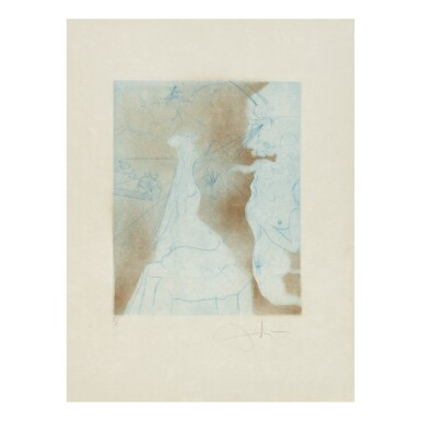 View 10. Thumbnail of Lot 93. SALVADOR DALÍ   THE HIPPIES (MICHLER & LÖPSINGER 377-387; FIELD 69-13).