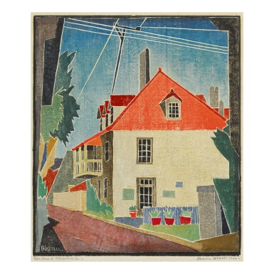 View 1. Thumbnail of Lot 43. BLANCHE LAZZELL | THE FATIO HOUSE II AND BLOCK 120.