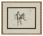 "PAVEL TCHELITCHEW | THE MAN WITH THREE LEGS (STUDY FOR ""PHENOMENA"")"