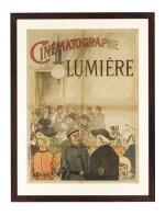 Cinématographe Lumière (1896) poster, French