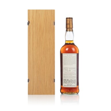 View 2. Thumbnail of Lot 46. The Macallan Fine & Rare 53 Year Old 49.8 abv 1949 (1 BT70).