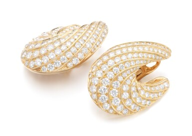 PAIR OF DIAMOND EAR CLIPS | FRED