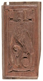 TWELVE FATIMID OR TULUNID CARVED WOOD FRAGMENTS, EGYPT, 9TH-11TH CENTURY AD