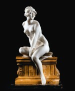 DOMENICO BACCI (ACTIVE 19TH/20TH CENTURY), FRENCH, CIRCA 1900 | NUDE SEATED ON A ROCK