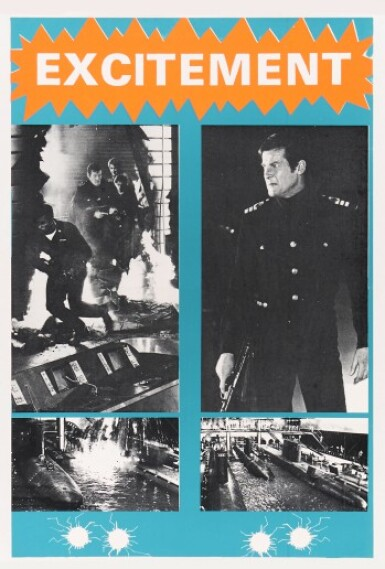 View 2. Thumbnail of Lot 117. THE SPY WHO LOVED ME (1977) SET OF FIVE POSTERS, BRITISH, MARLER HALEY.