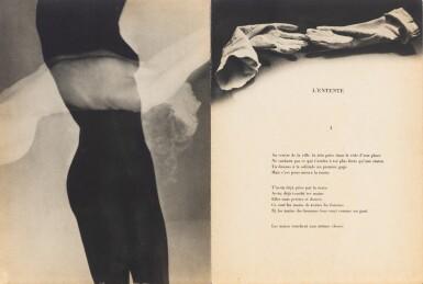 View 2. Thumbnail of Lot 165. Facile. 1935. In-4, broché, couverture à rabats. Edition originale. Un des 200 ex. sur vélin H.C..