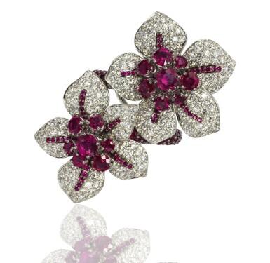 Ruby and diamond ring, Michele della Valle