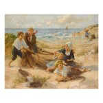 JESSIE MCGEEHAN | CHILDREN PLAYING ON THE BEACH