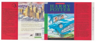 View 2. Thumbnail of Lot 277.  Rowling, Harry Potter and the Chamber of Secrets, 1998, uncorrected proof copy.