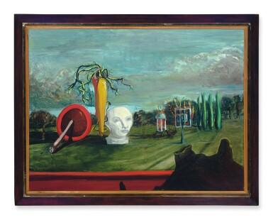 View 2. Thumbnail of Lot 224. Surrealist Landscape.