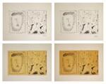 PABLO PICASSO | FOUR WORKS: BACCHANAL (B. 795; M. 280)