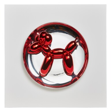 View 1. Thumbnail of Lot 99. Balloon Dog (Red).